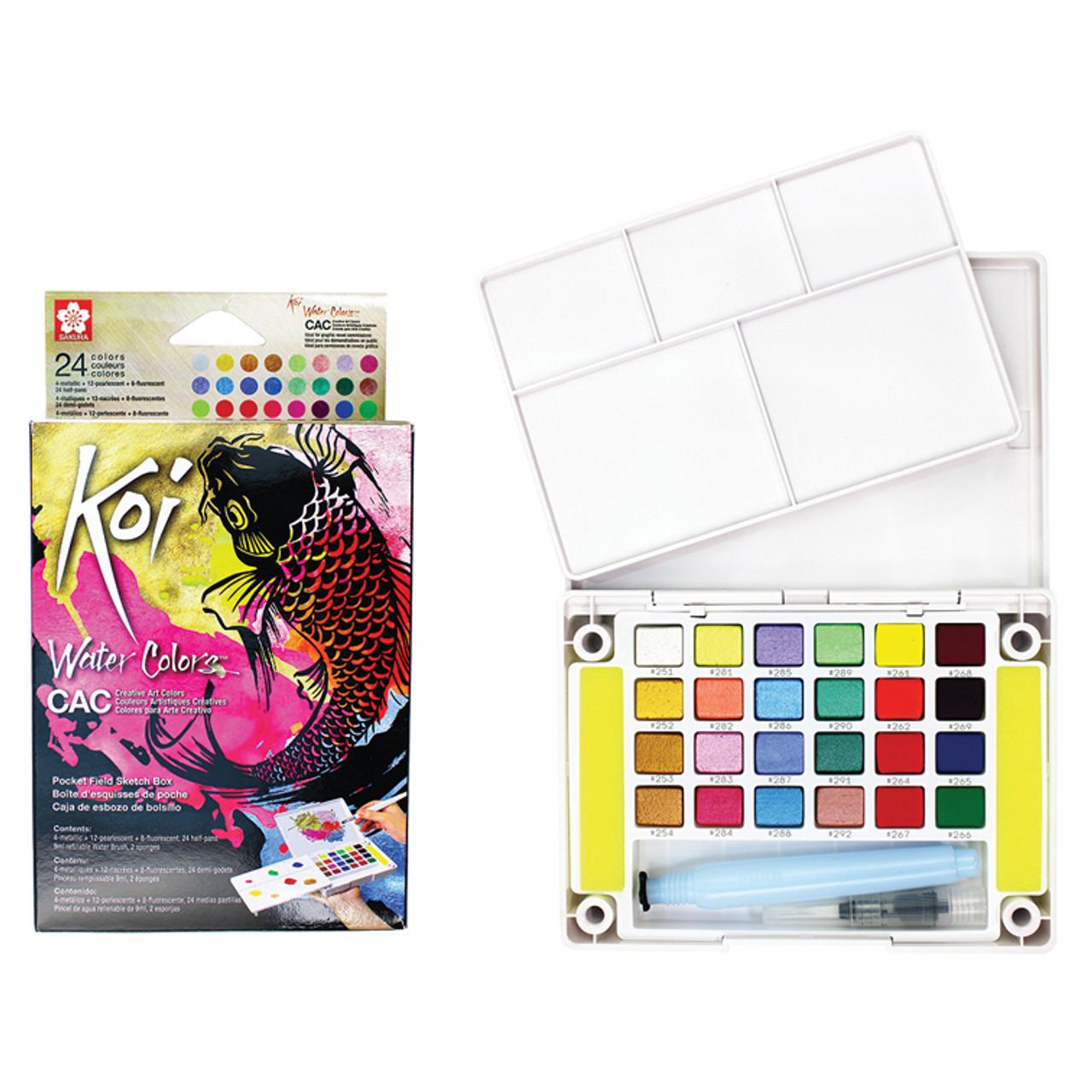 KOI Watercolor CAC 12-color Set