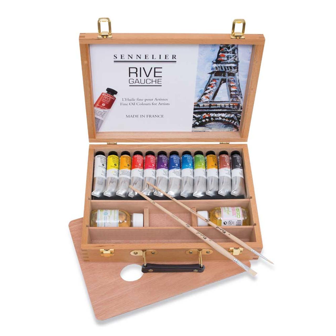 Rive Gauche Oil Wood Box Set