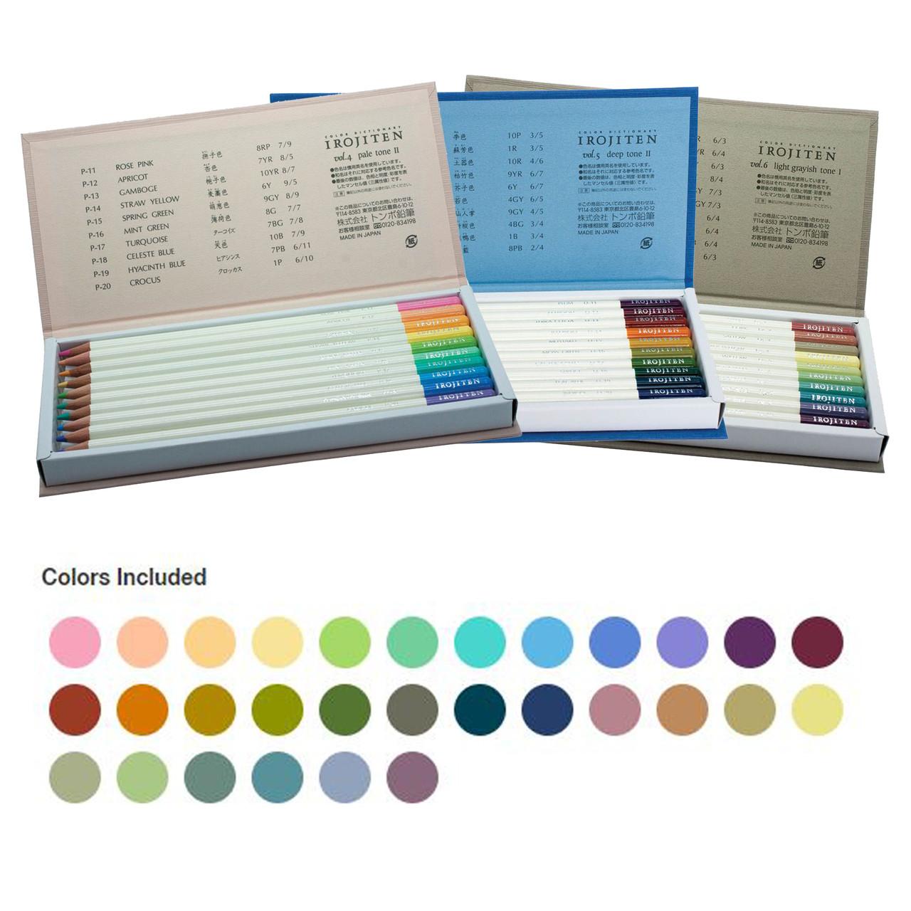 Irojiten Pencil 30-color Woodland Set