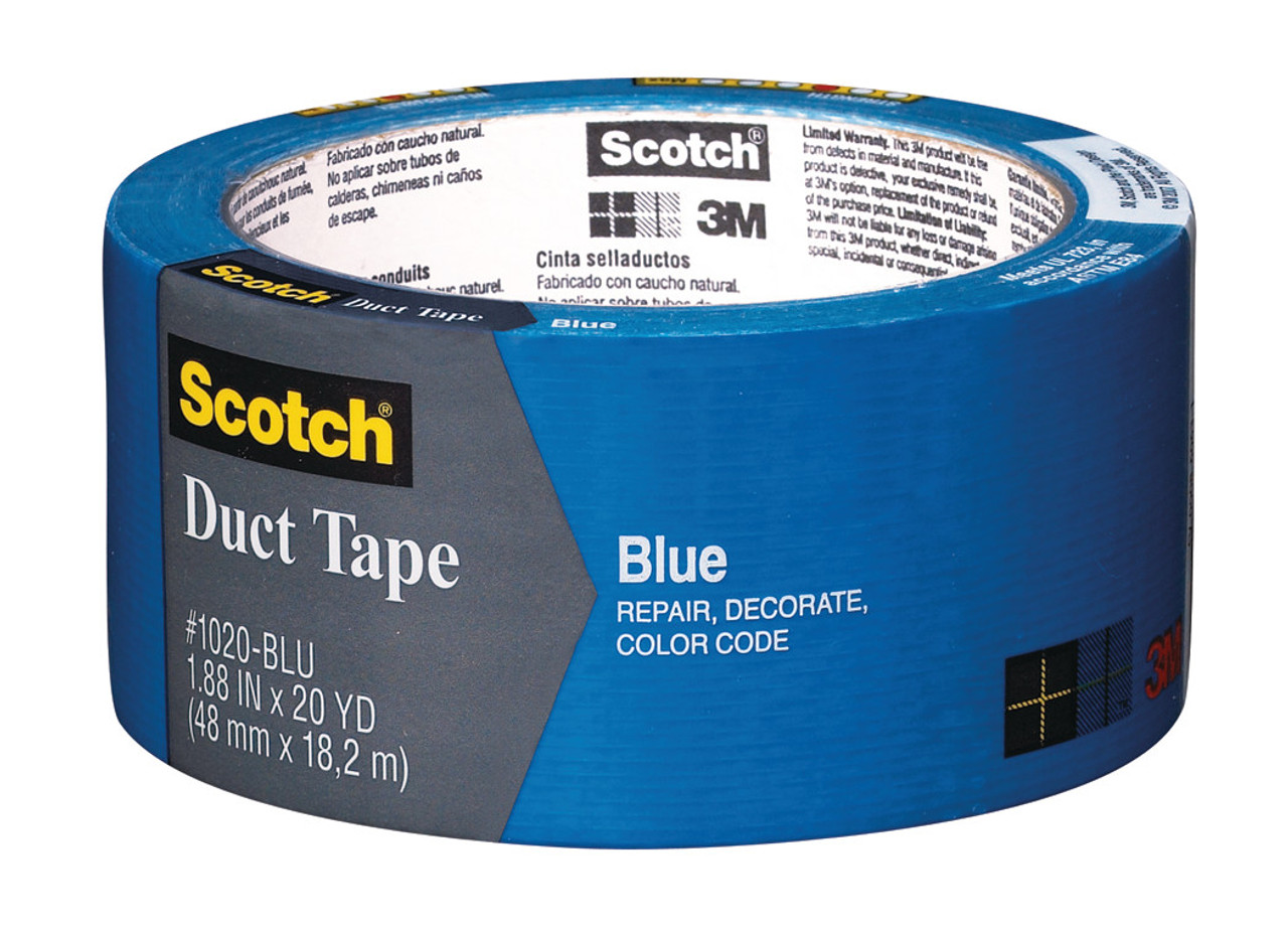 """Duct Tape 1.88"""" x 20yd Blue"""