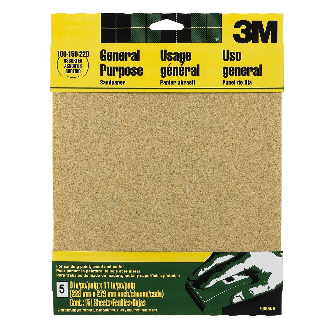 320-Grit 9-Inch by 11-Inch 3M SandBlaster Between Coats Sandpaper