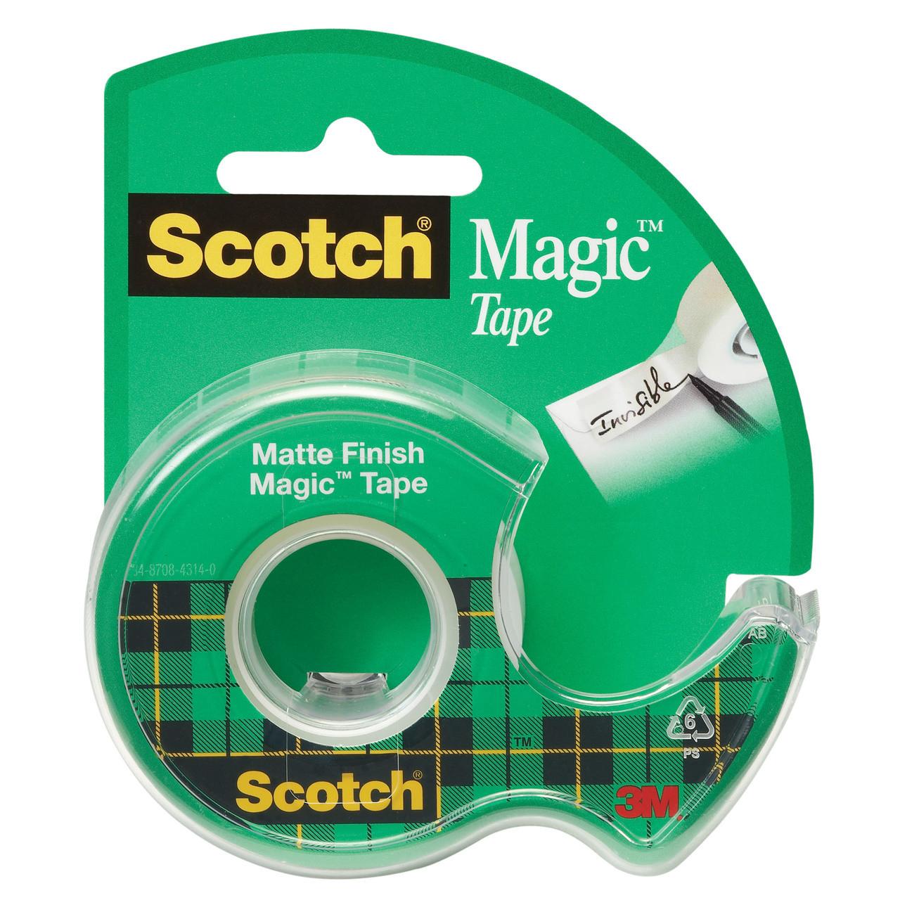 Tape 105 Magic w/Dispenser 3/4x300