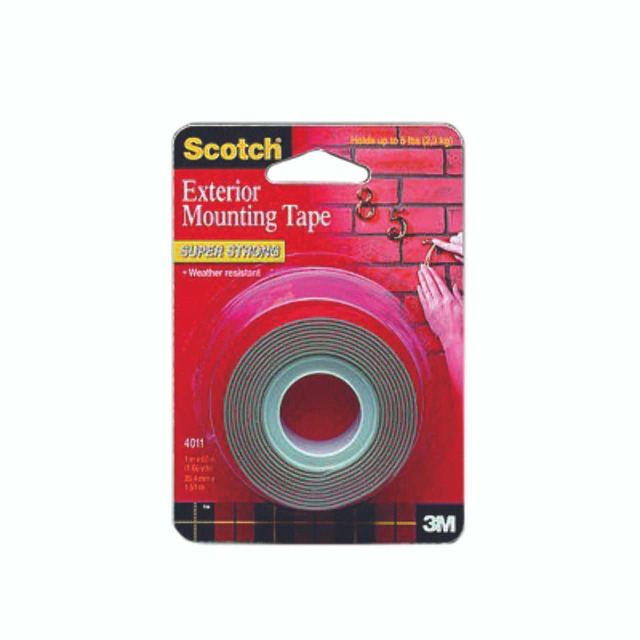 Tape 4011 Exterior Mounting 1x60in