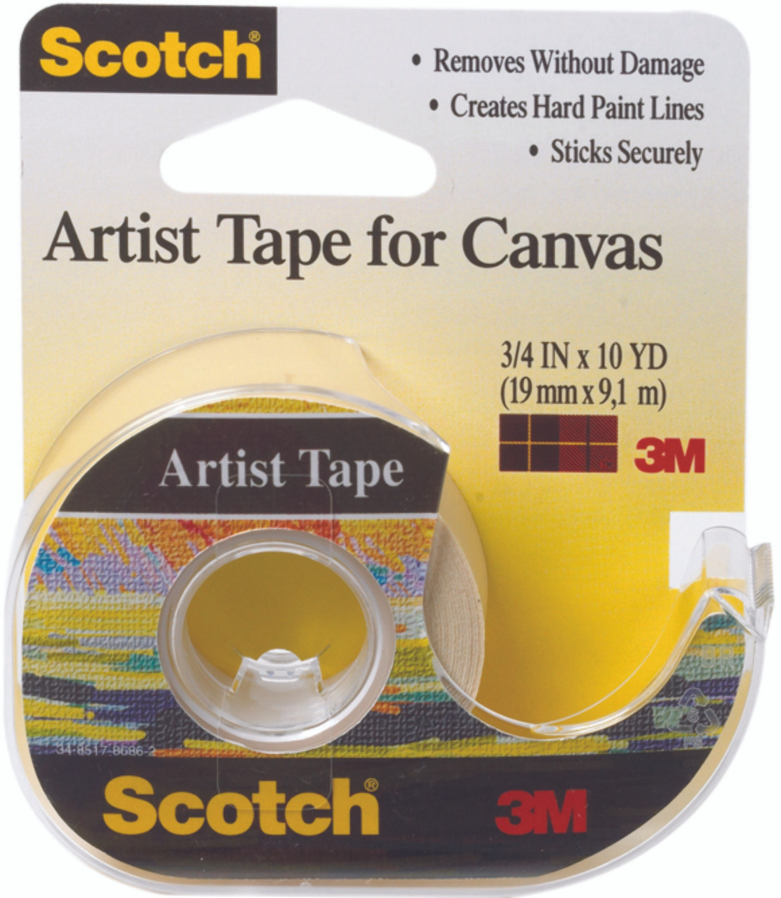 Tape FA2010 Canvas 3/4x10yd