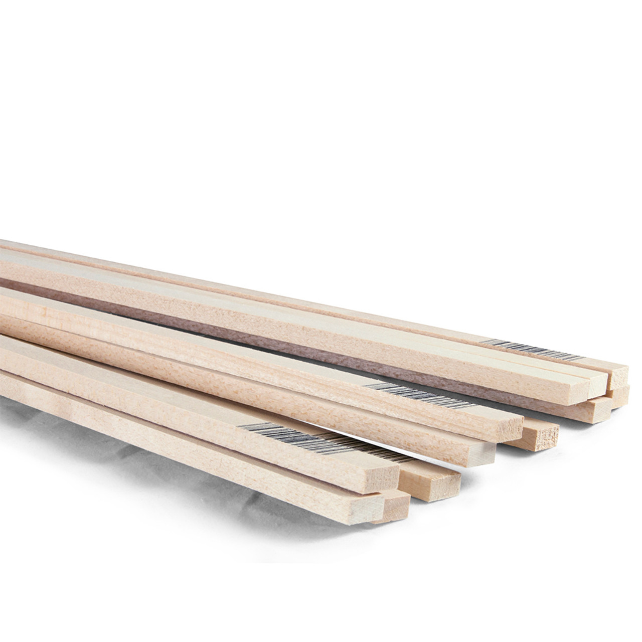 "Basswood Strip 24"" x 1/2"" x 1/4"""