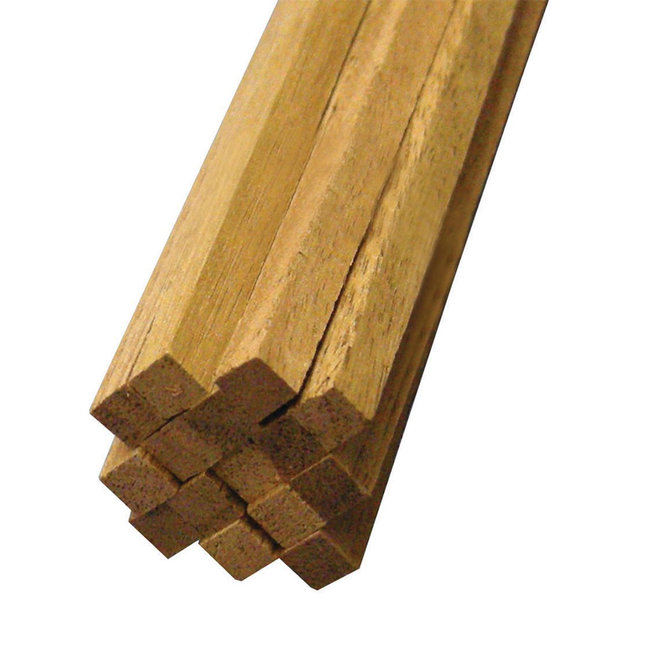 """Walnut Modeling Hardwood Strip 24"""" x 3/16"""" x 3/16"""""""