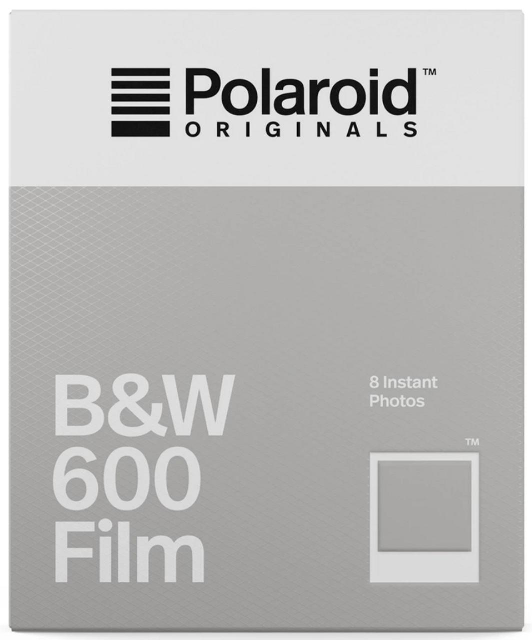 Polaroid B&W Film for 600 8pk