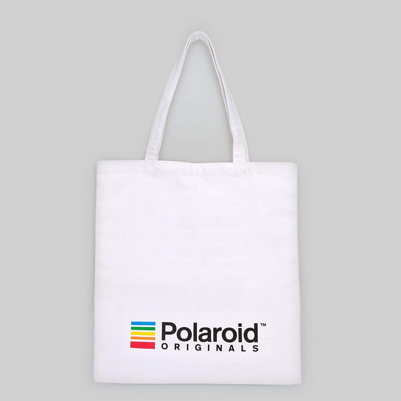 Polaroid Tote Bag - White - Front