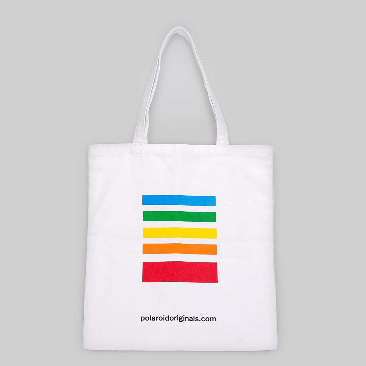 Polaroid Tote Bag - White - Back