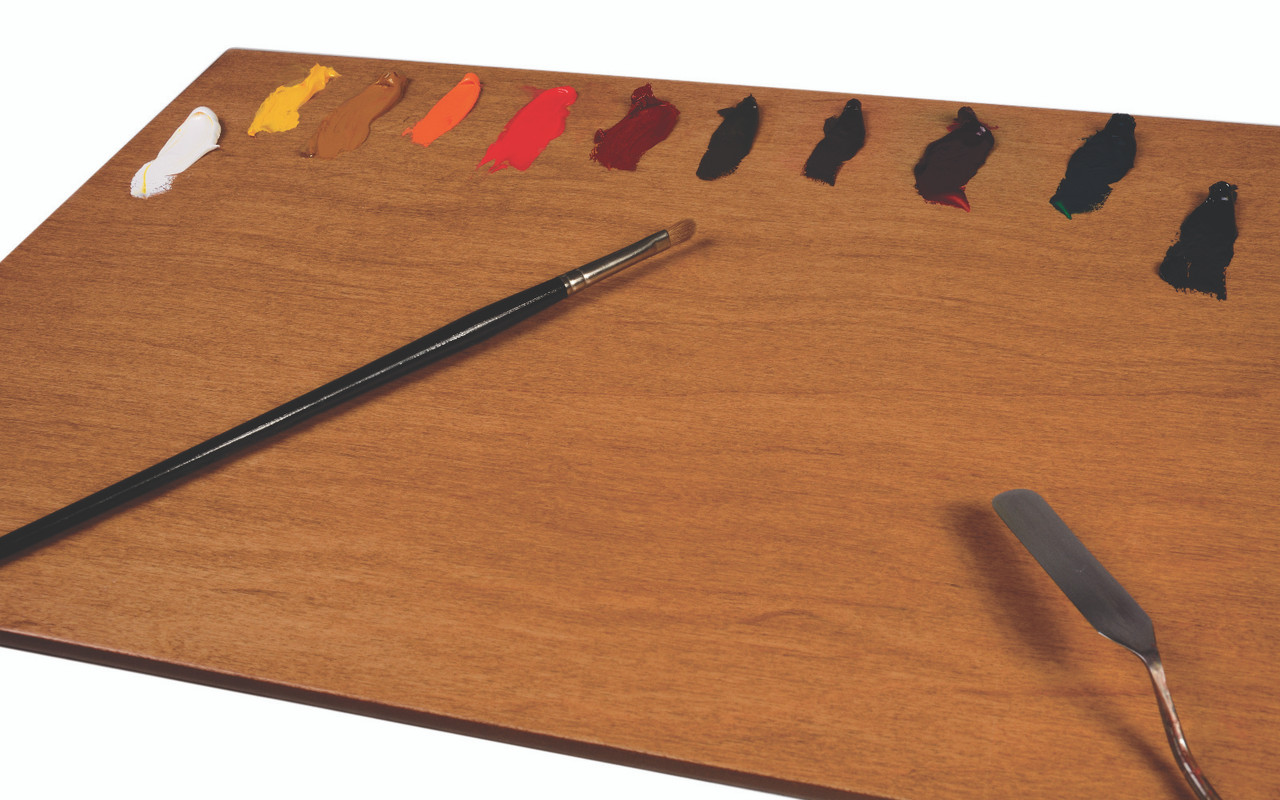 POSH Table Top Natural Stain Wood Palette