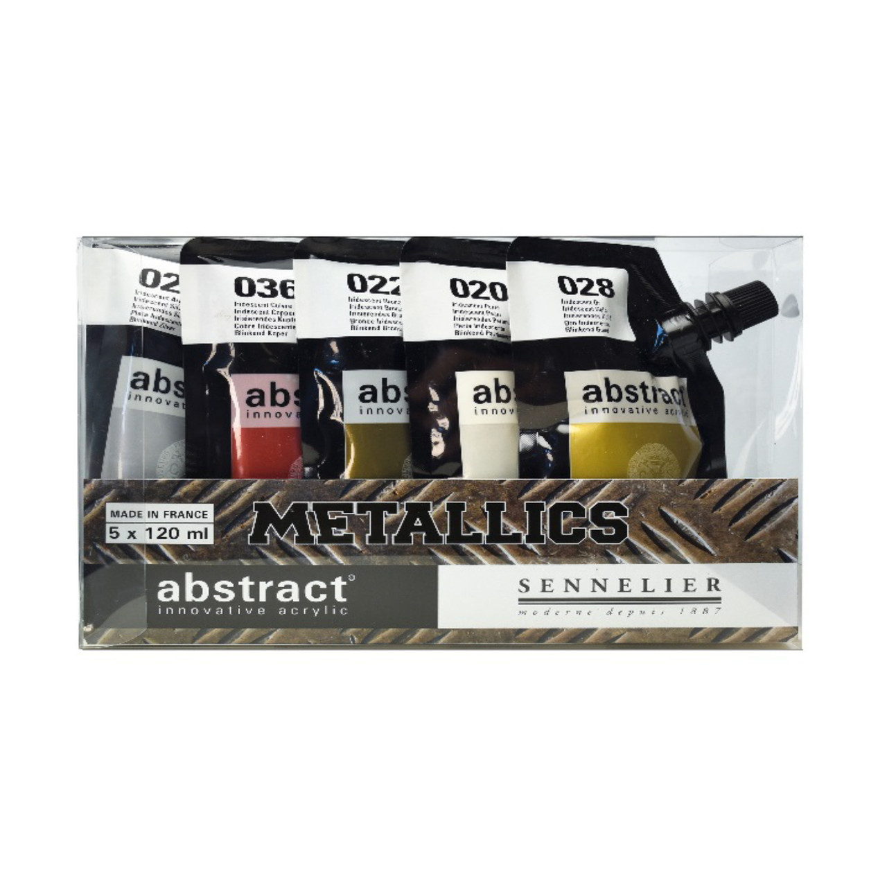 Sennelier Abstract Metallic Set