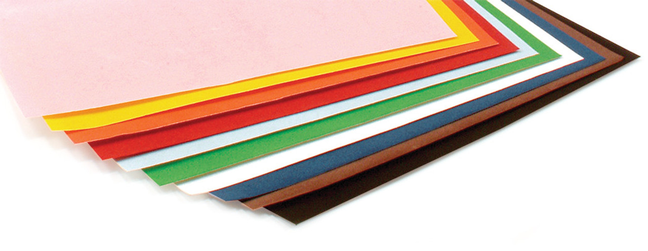 Hygloss Velour Paper Assorted Colors 10pk 8.5in x 11in