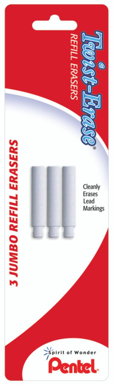 Pentel Twist-Erase III Mechanical Pencil Eraser Refill