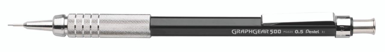 Pentel GraphGear 500 Black Drafting Pencil