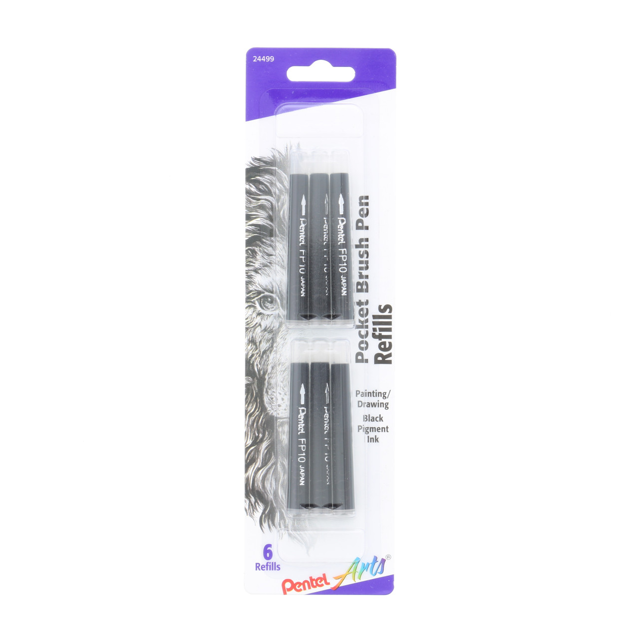 Pentel Pocket Brush Pen Refill