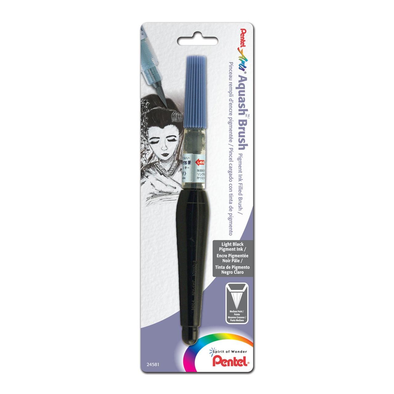 Pentel Aquash Brush with Pigmented Ink