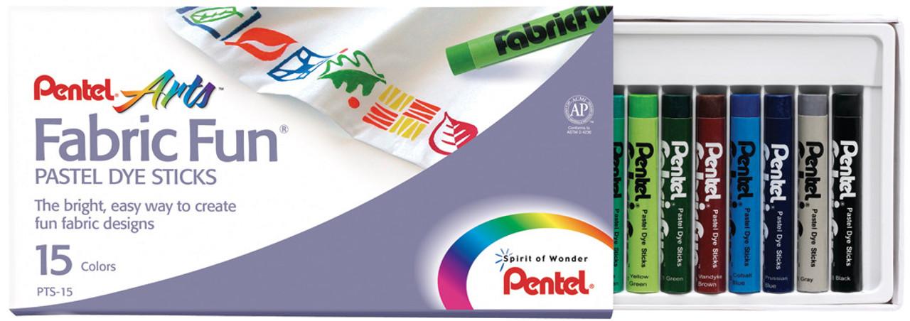 Pentel Fabric Dye Stick Set