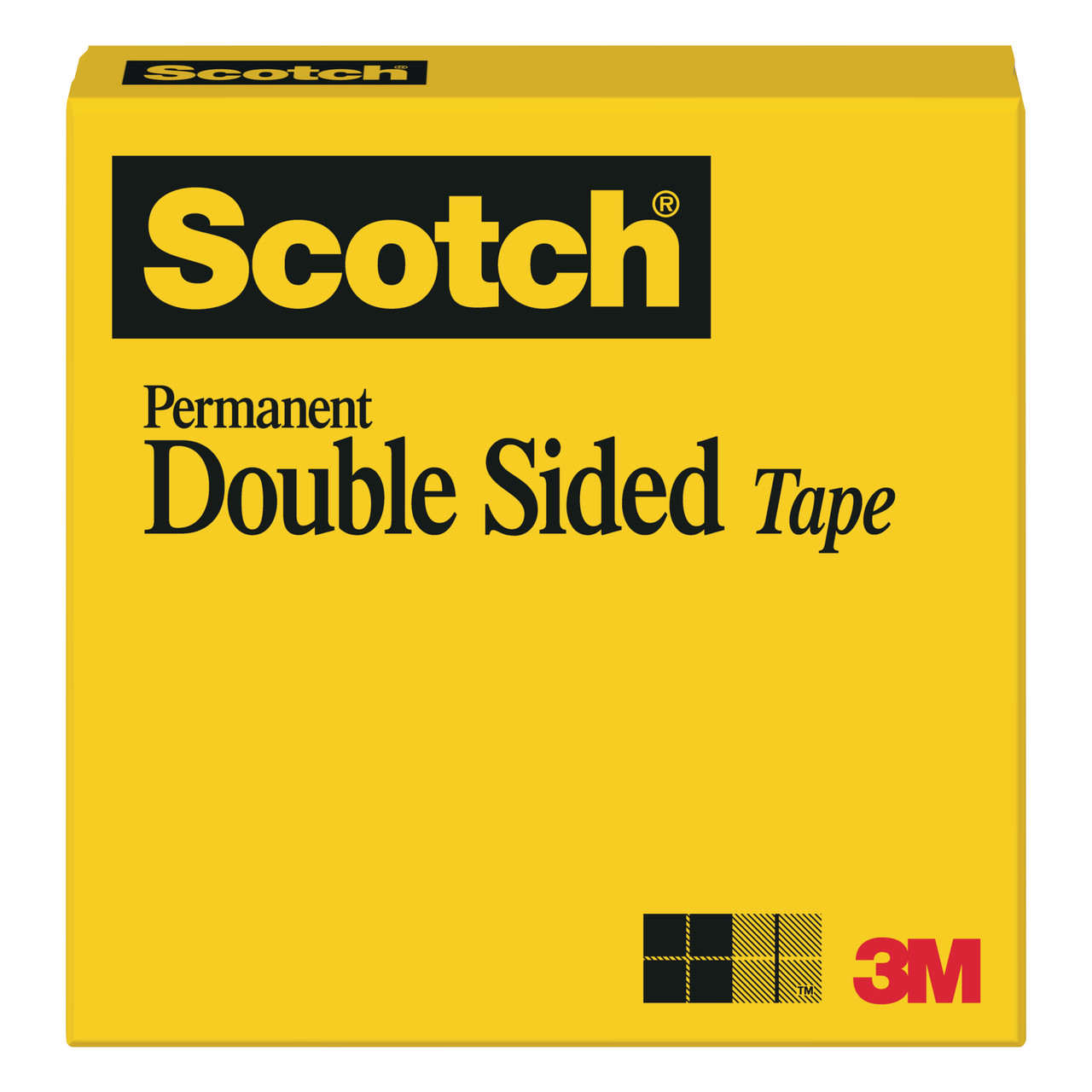#665 Scotch Double-Coated Tape 1in x 36yd