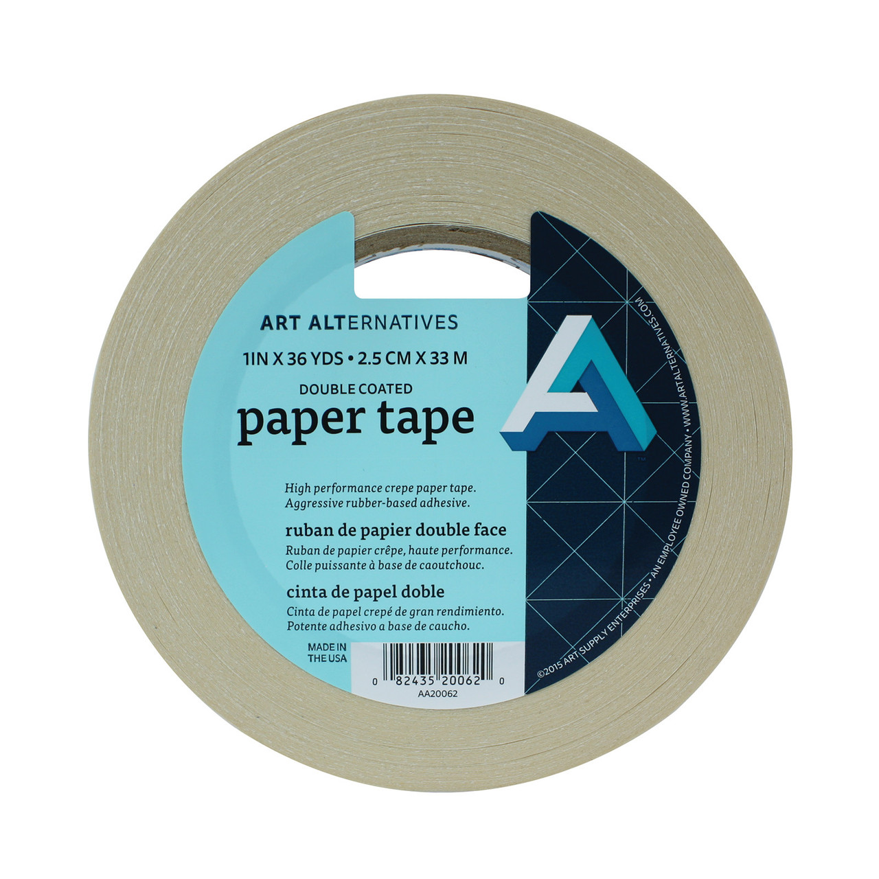 Double-Stick Paper Tape 1in
