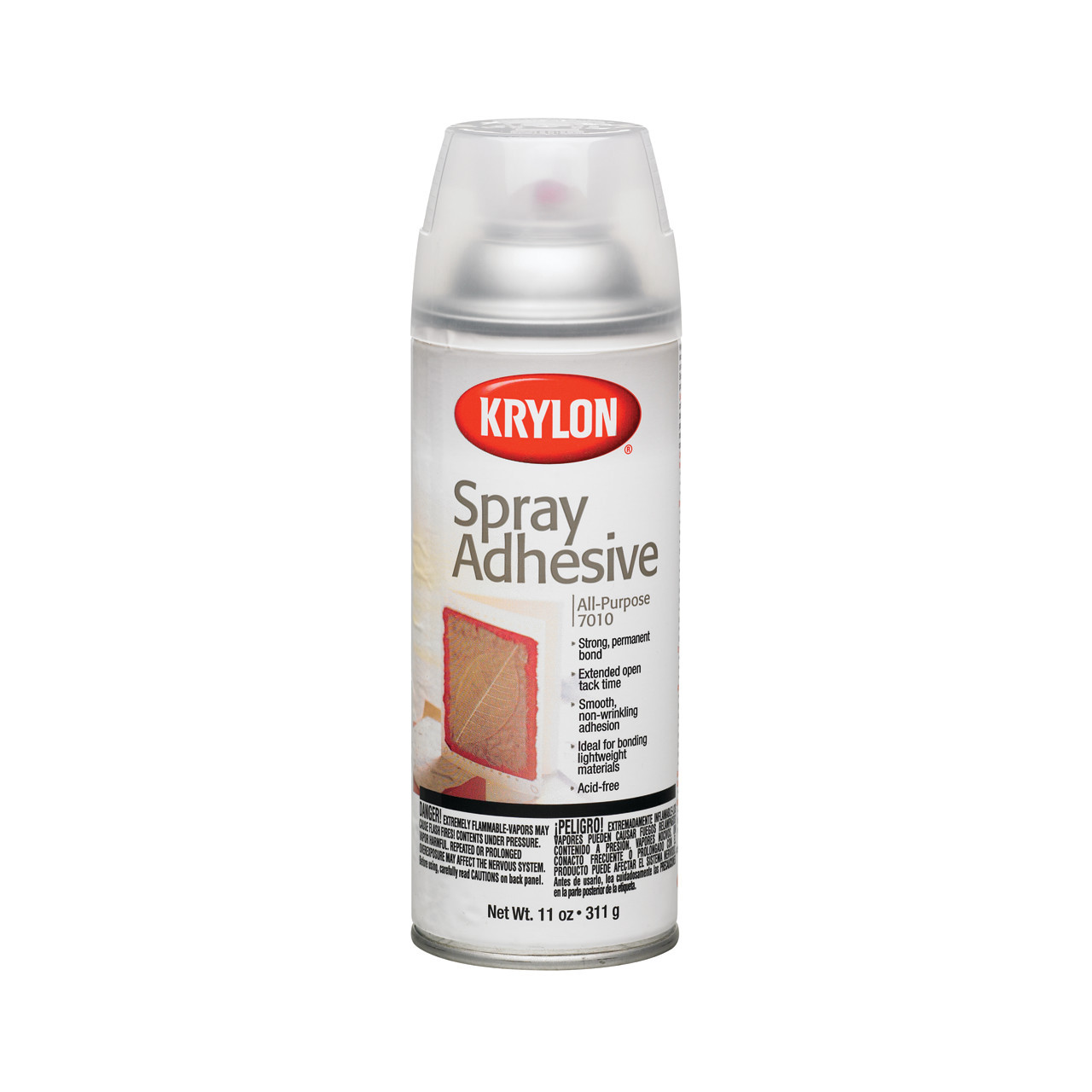 Krylon Clear Spray Adhesive