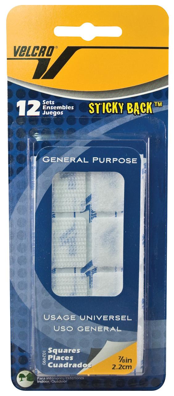 Velcro Tape 7/8in Squares White