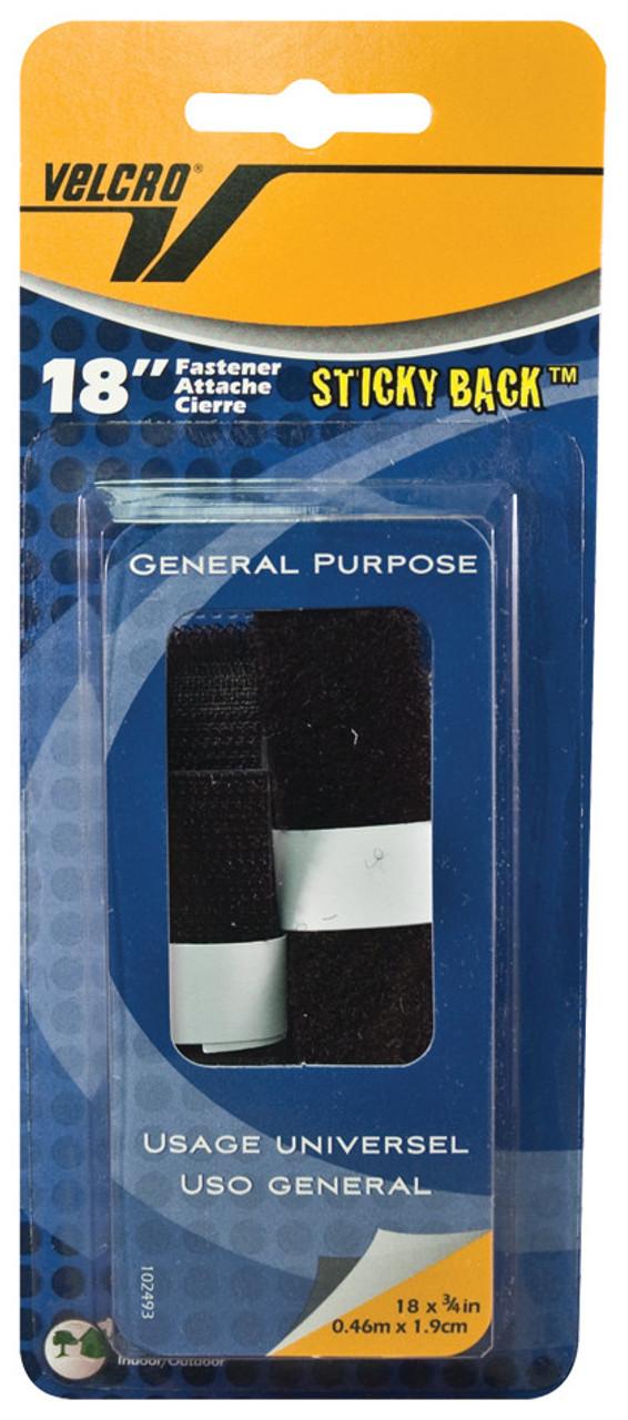 Velcro Tape 18in Strip White