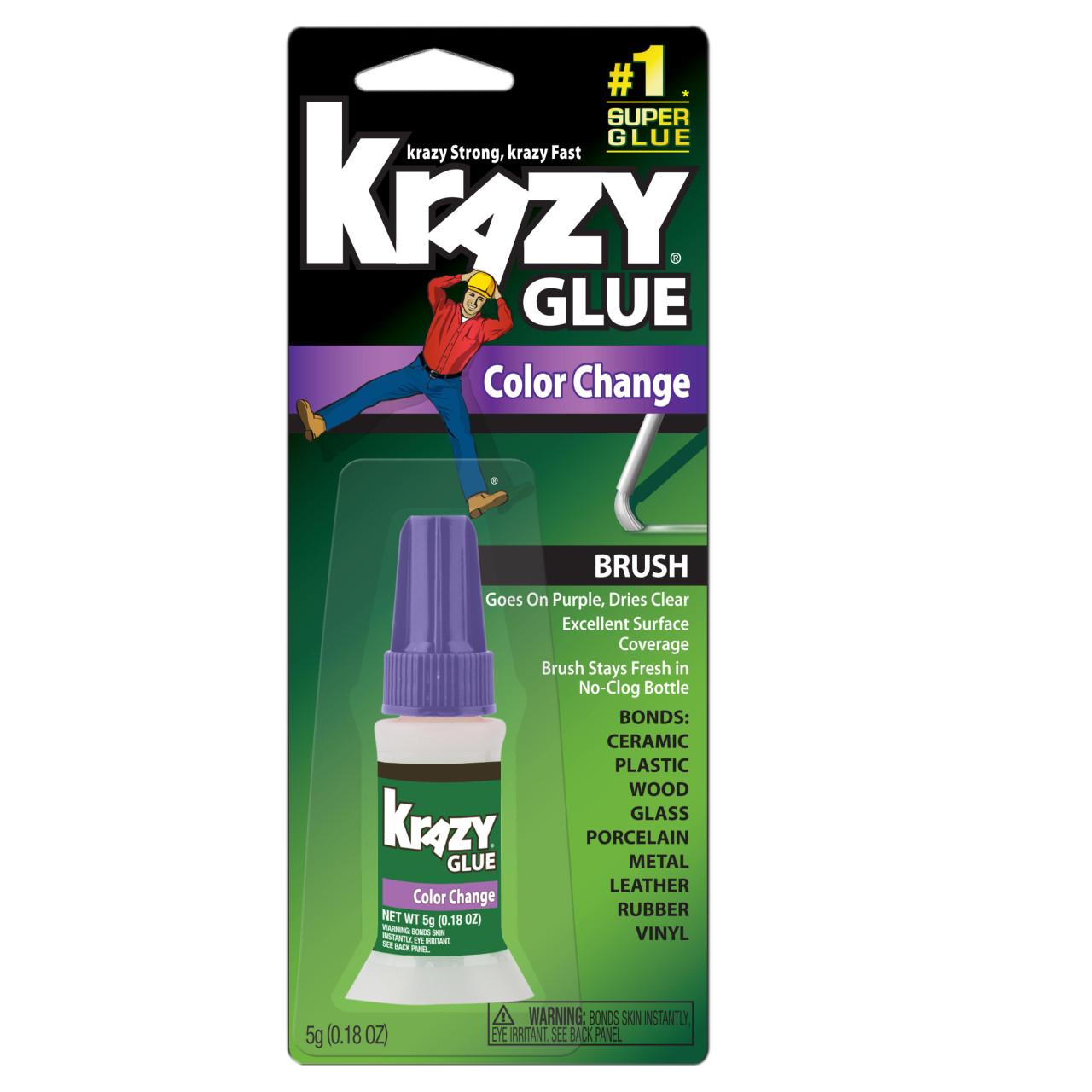 Instant Krazy Glue Color Change