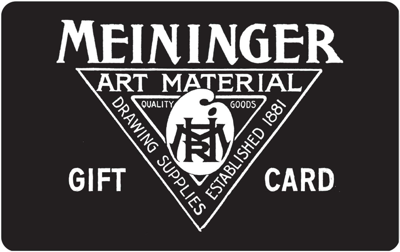 Meininger Gift Cards - for in-store shopping
