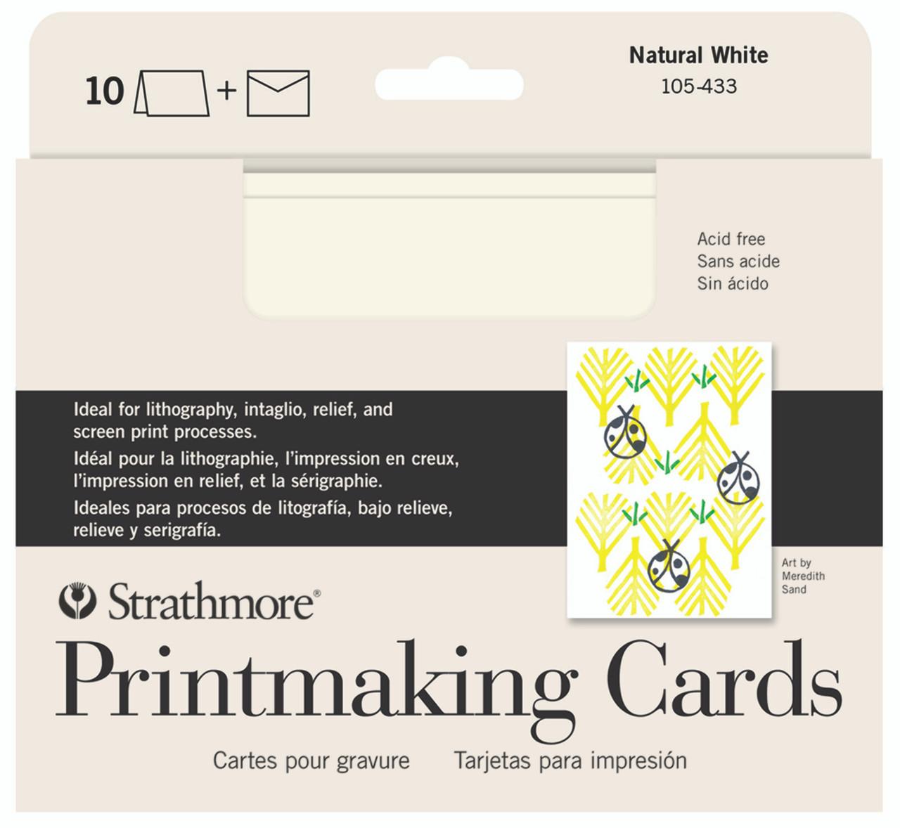 Creative Cards 5 x 6.875 Printmaking