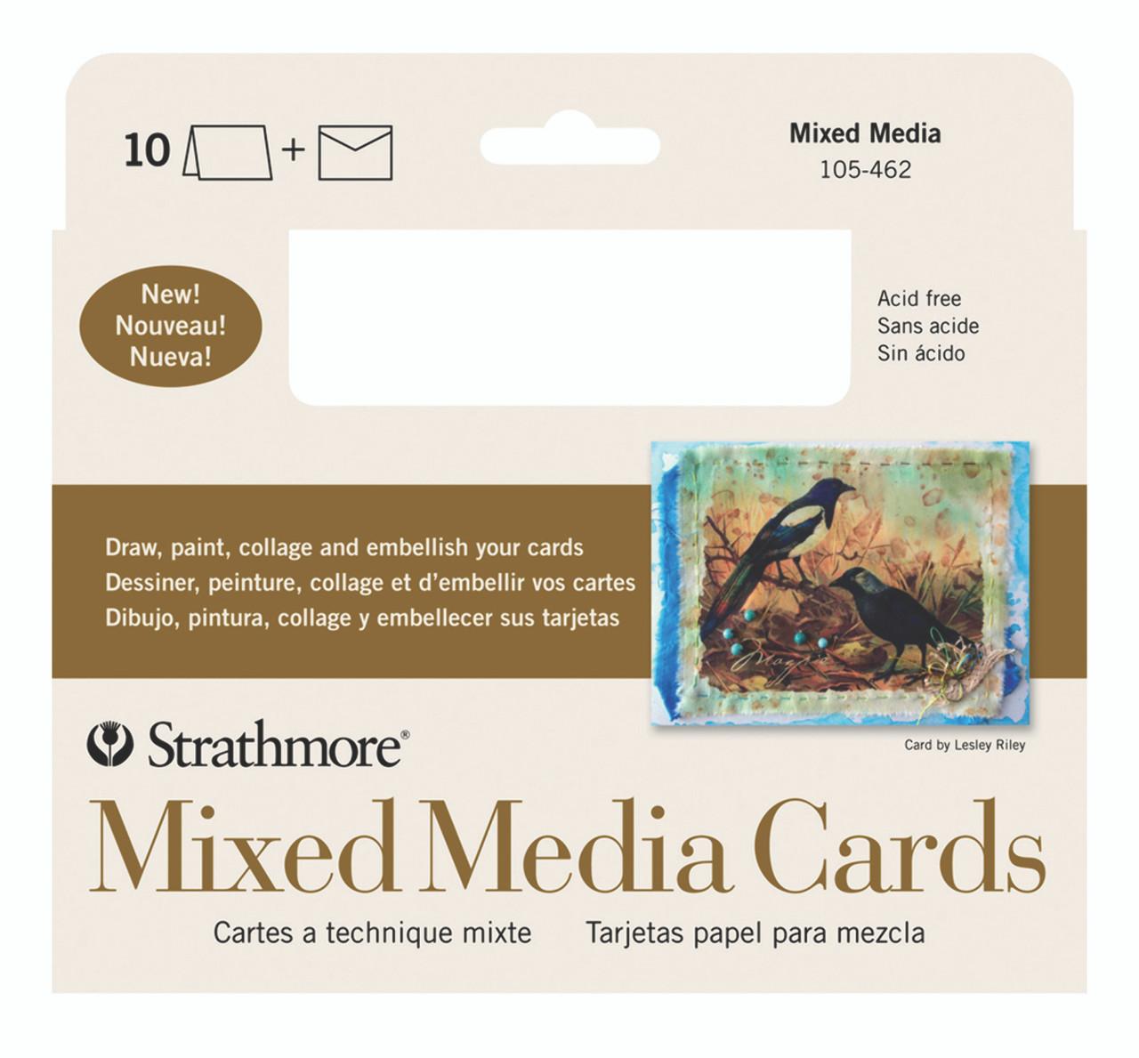 Mixed Media Cards 5 x 6.875