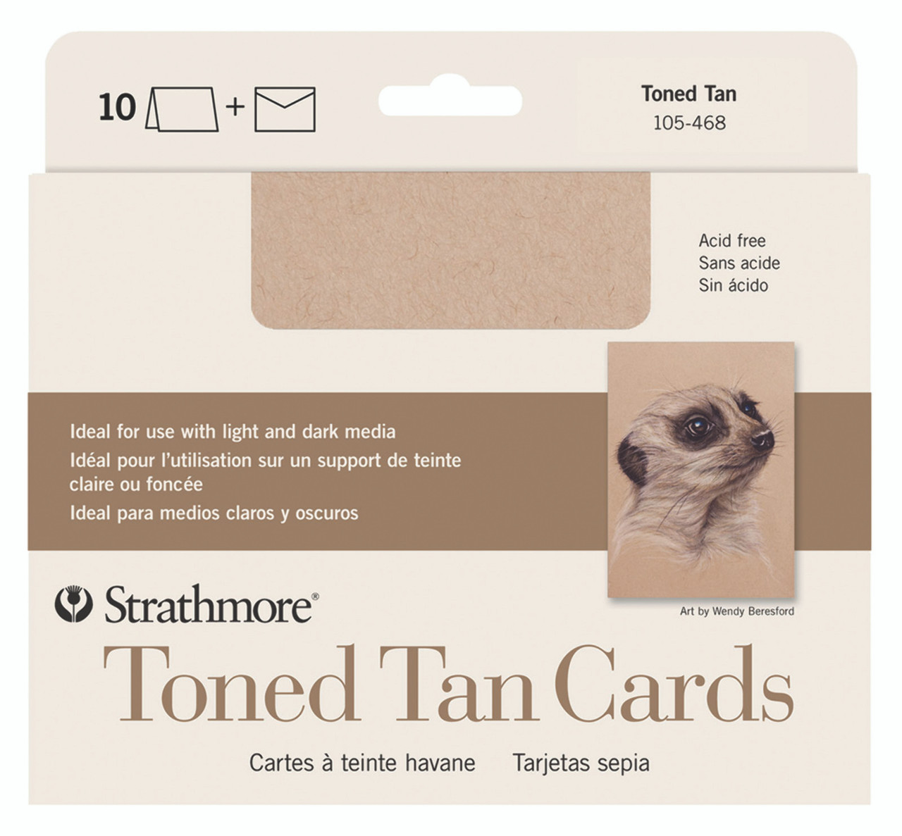 Creative Cards 5 x 6.875 Tan