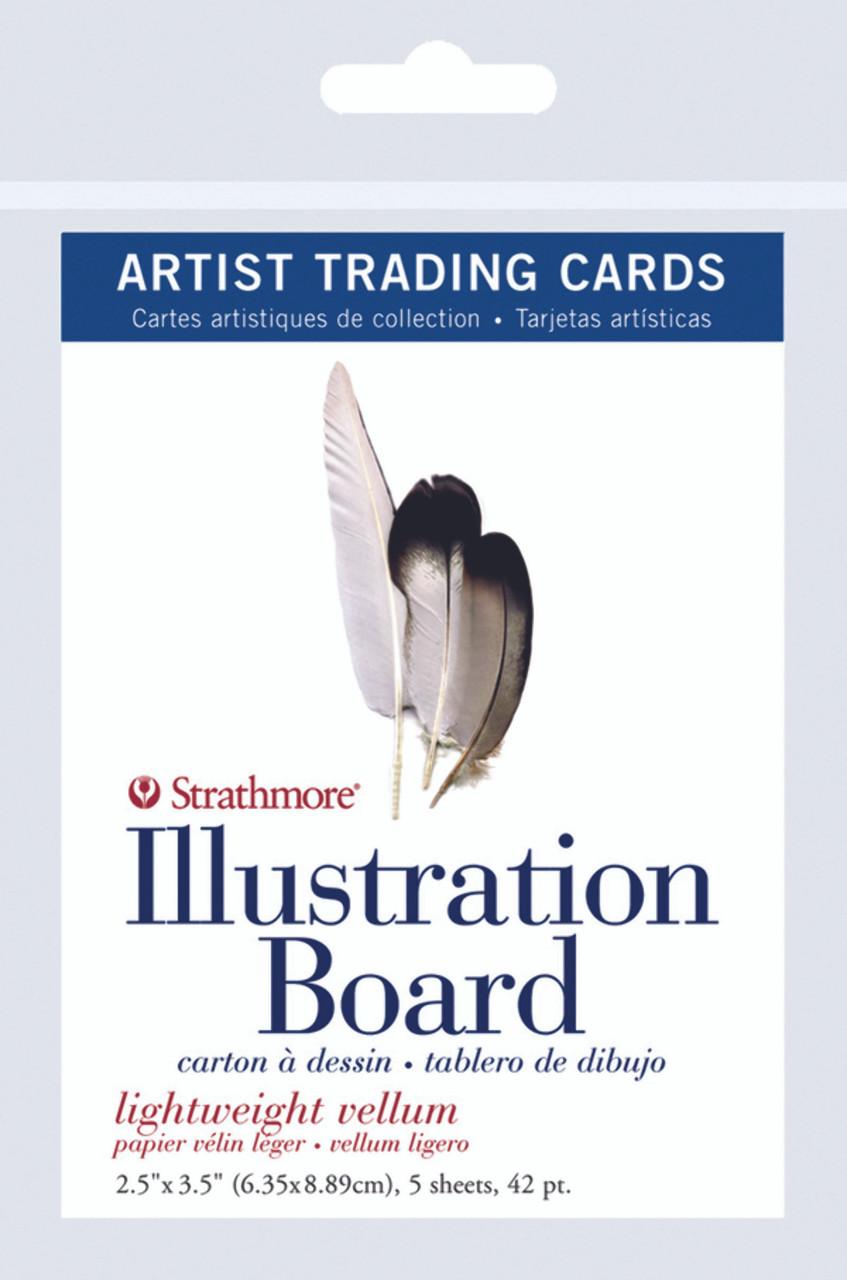 Artist Trading Card Pack Illustration Board