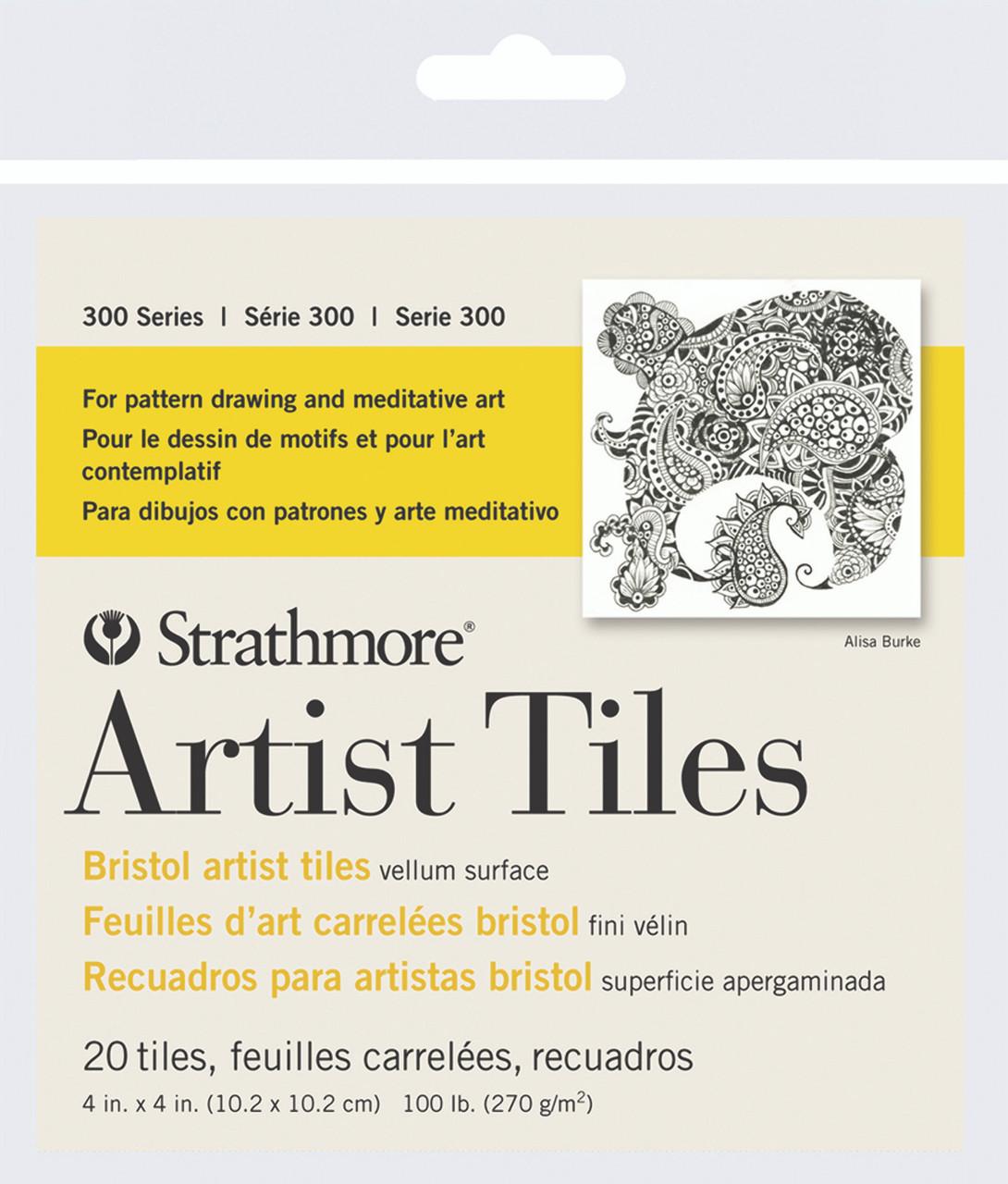 Artist Tiles 4 x 4 Bristol Vellum