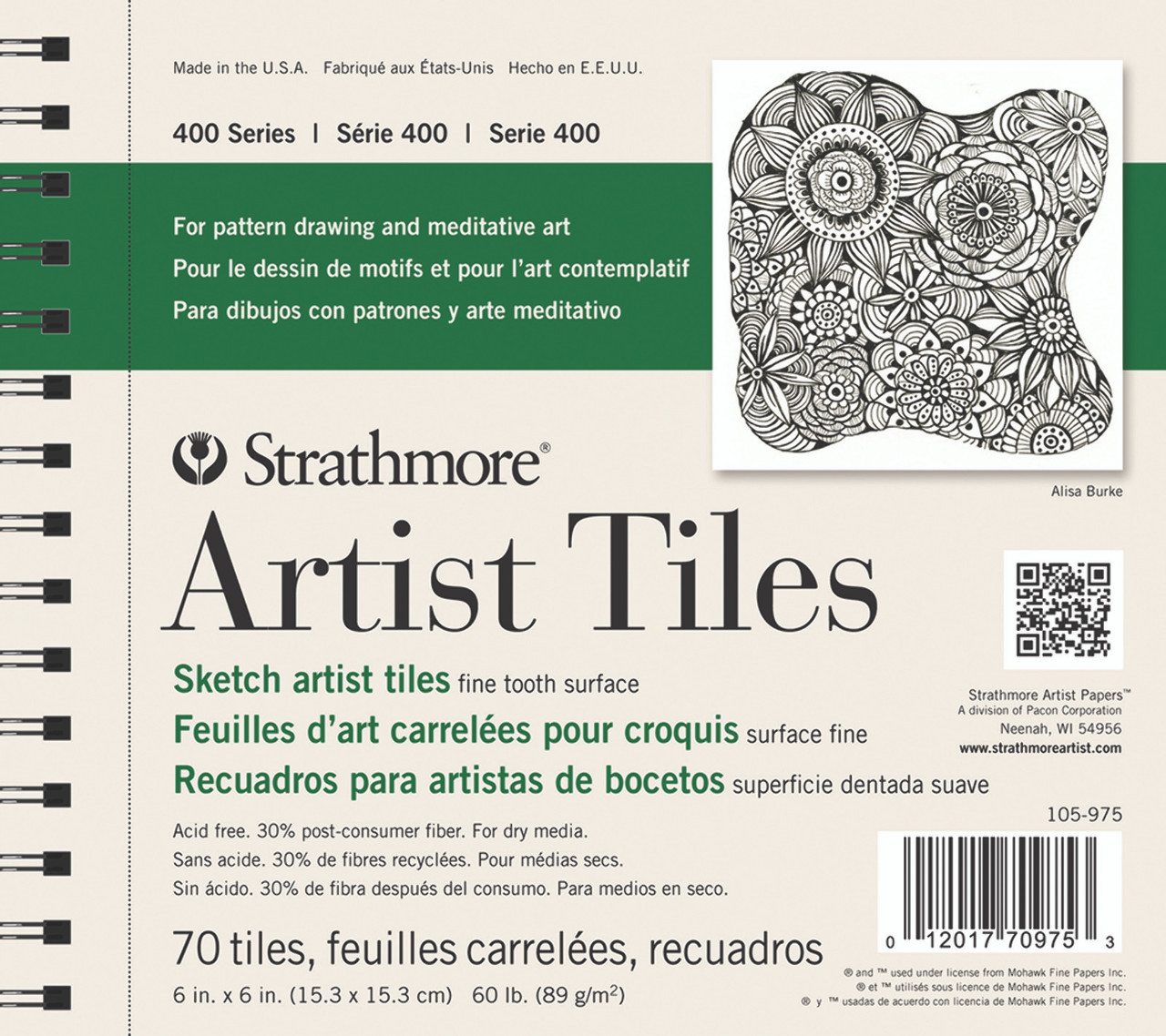 Artist Tiles Sketchbook