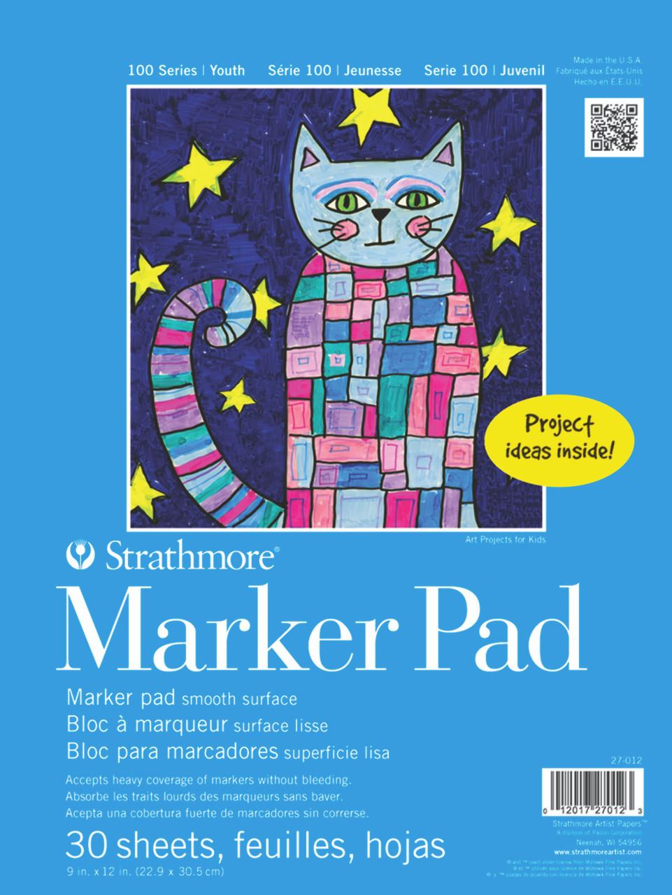 Kids Marker Paper Pad 9 x 12