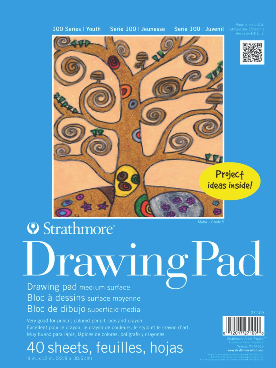 Kids Drawing Paper Pad 9 x 12