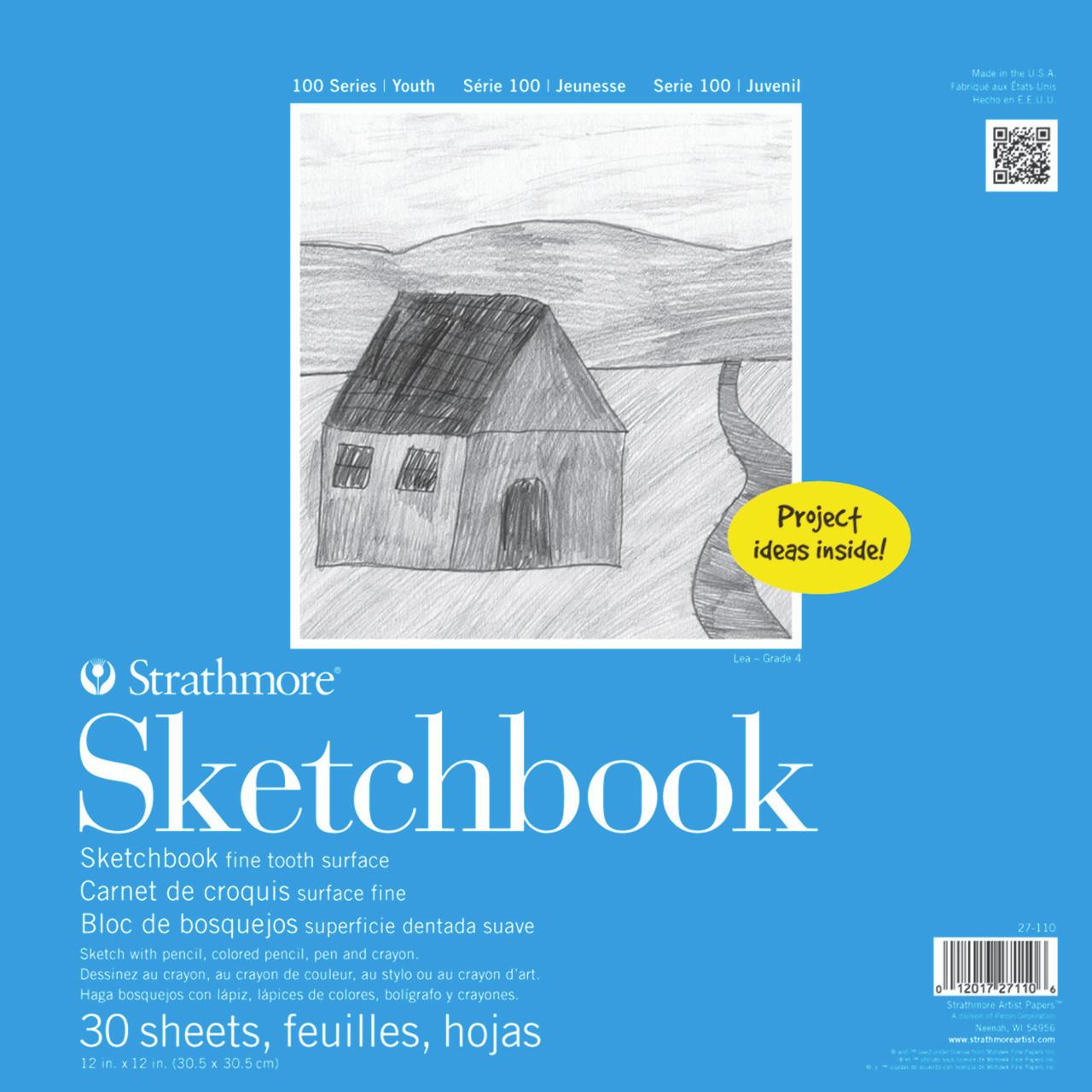 Kids Sketchbook 12 x 12