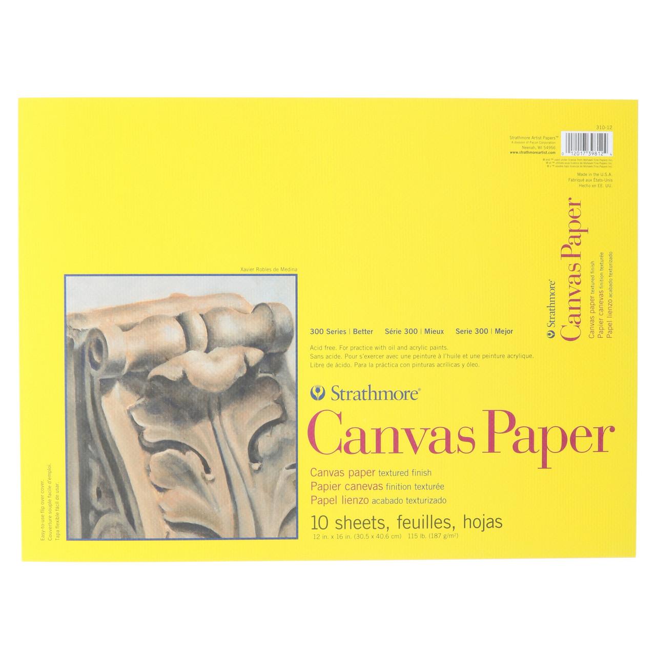 Canvas Paper Pad Series 300 12 x 16