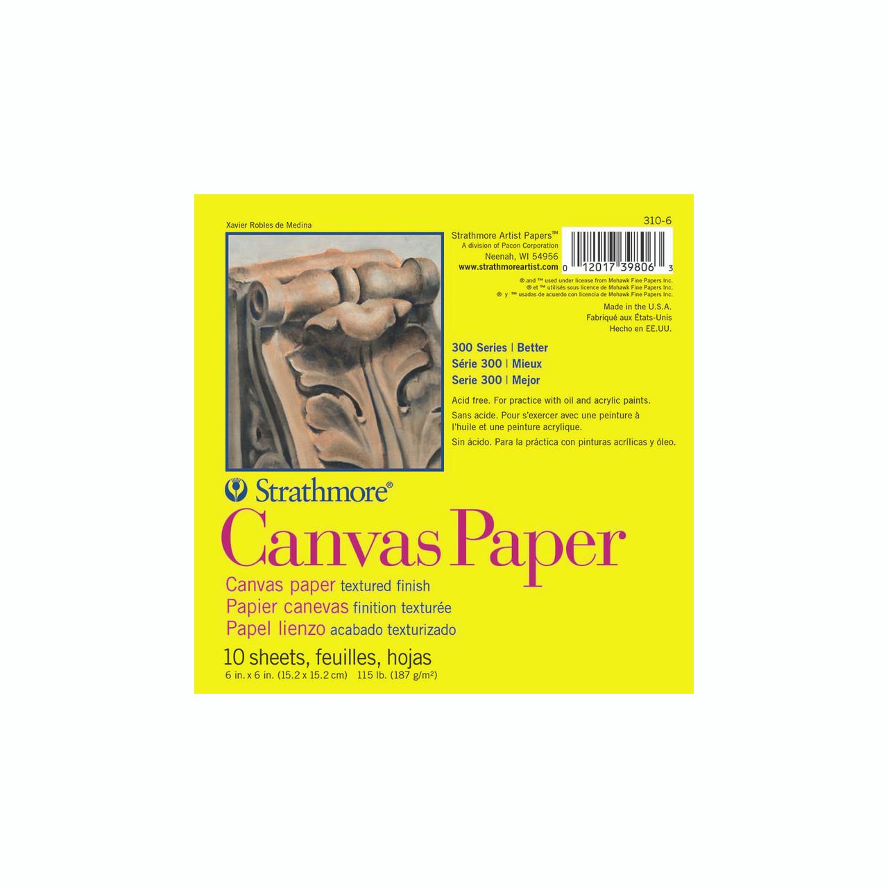 Canvas Paper Pad Series 300 6 x 6