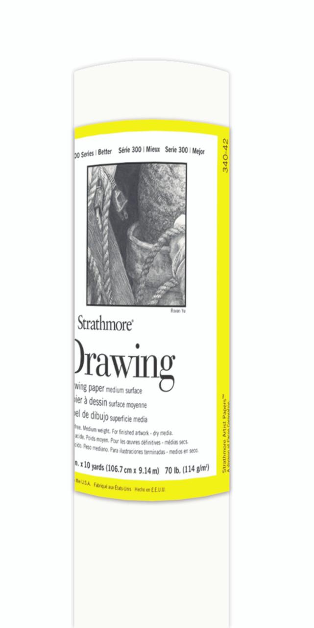 Fine Art Paper Roll Series 300 Drawing Medium 42 x 10yds 70lb