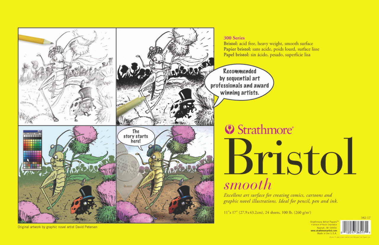 Sequential Art Bristol Paper Pad Series 300 11 x 17 Smooth