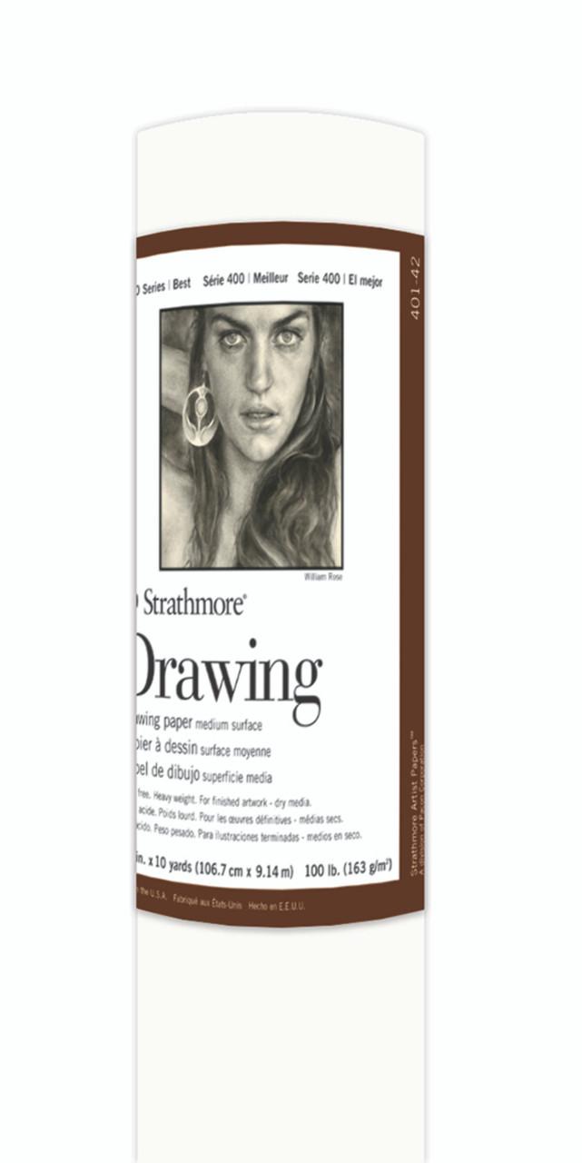 Fine Art Paper Roll Series 400 Drawing Medium 42 x 10yd 100lb