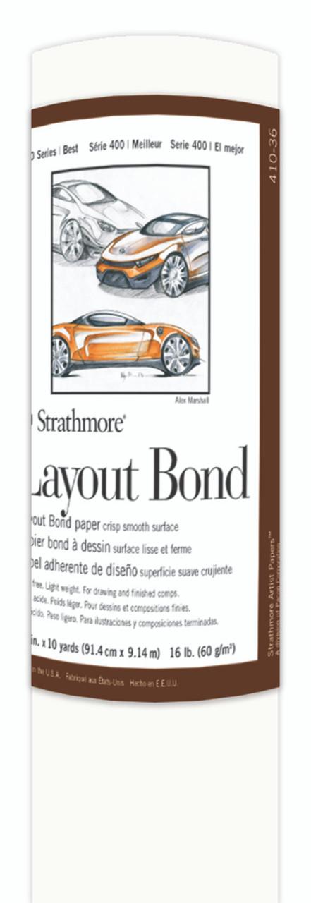 Fine Art Paper Roll Series 400 Bond Layout 36 x 10yd 16lb