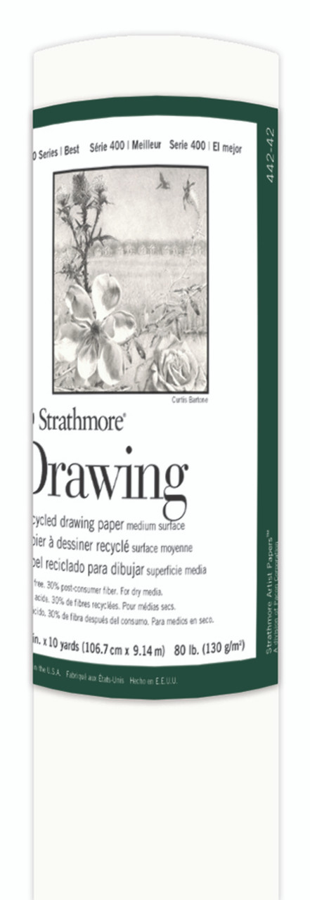 Fine Art Paper Roll Series 400 Drawing Recycled 42 x 10yd 80lb