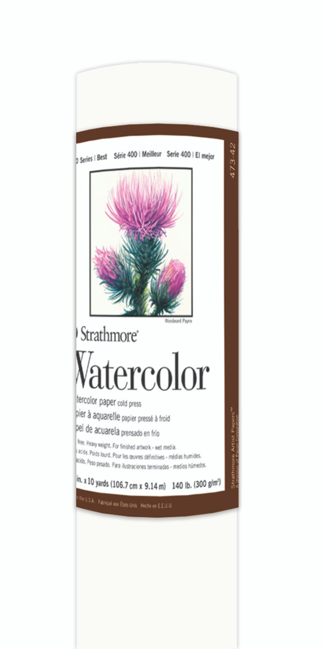 Fine Art Paper Roll Series 400 Watercolor Cold Press 42 x 10yd 140lb