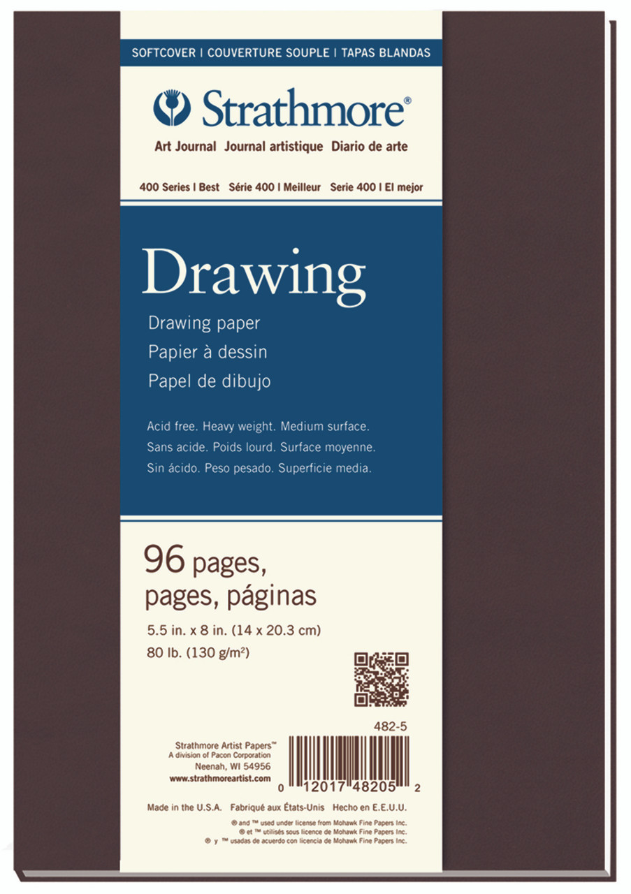 Soft Cover Drawing Art Journal Series 400 80lb. 5.5 x 8