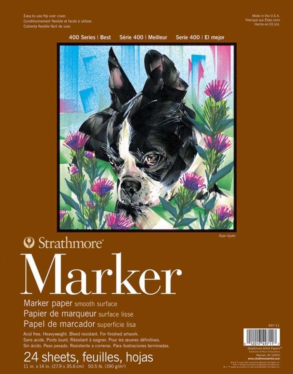 Marker Paper Pad Series 400 11 x 14