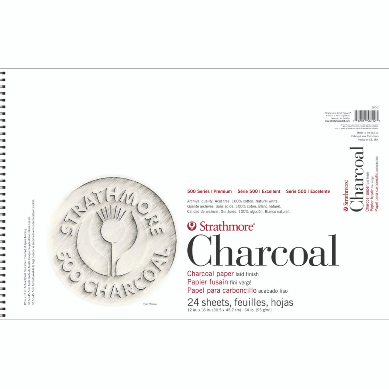 Charcoal Paper Pad Series 500 12 x 18