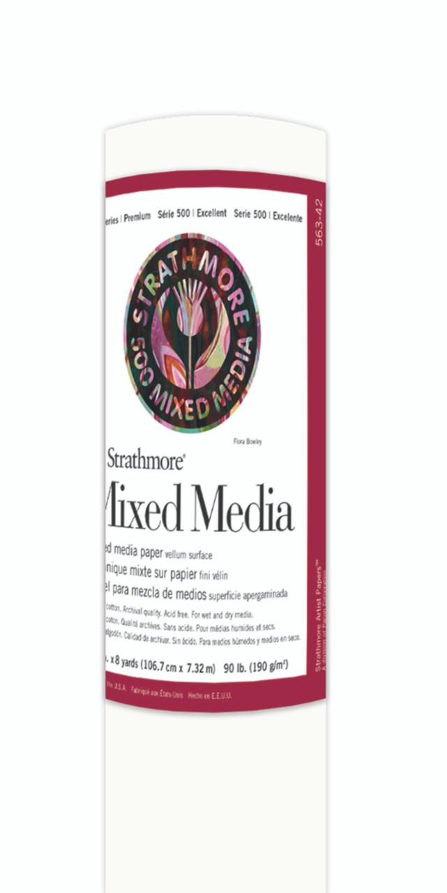 Fine Art Paper Roll Series 400 Mixed Media 42 x 8yd 90lb