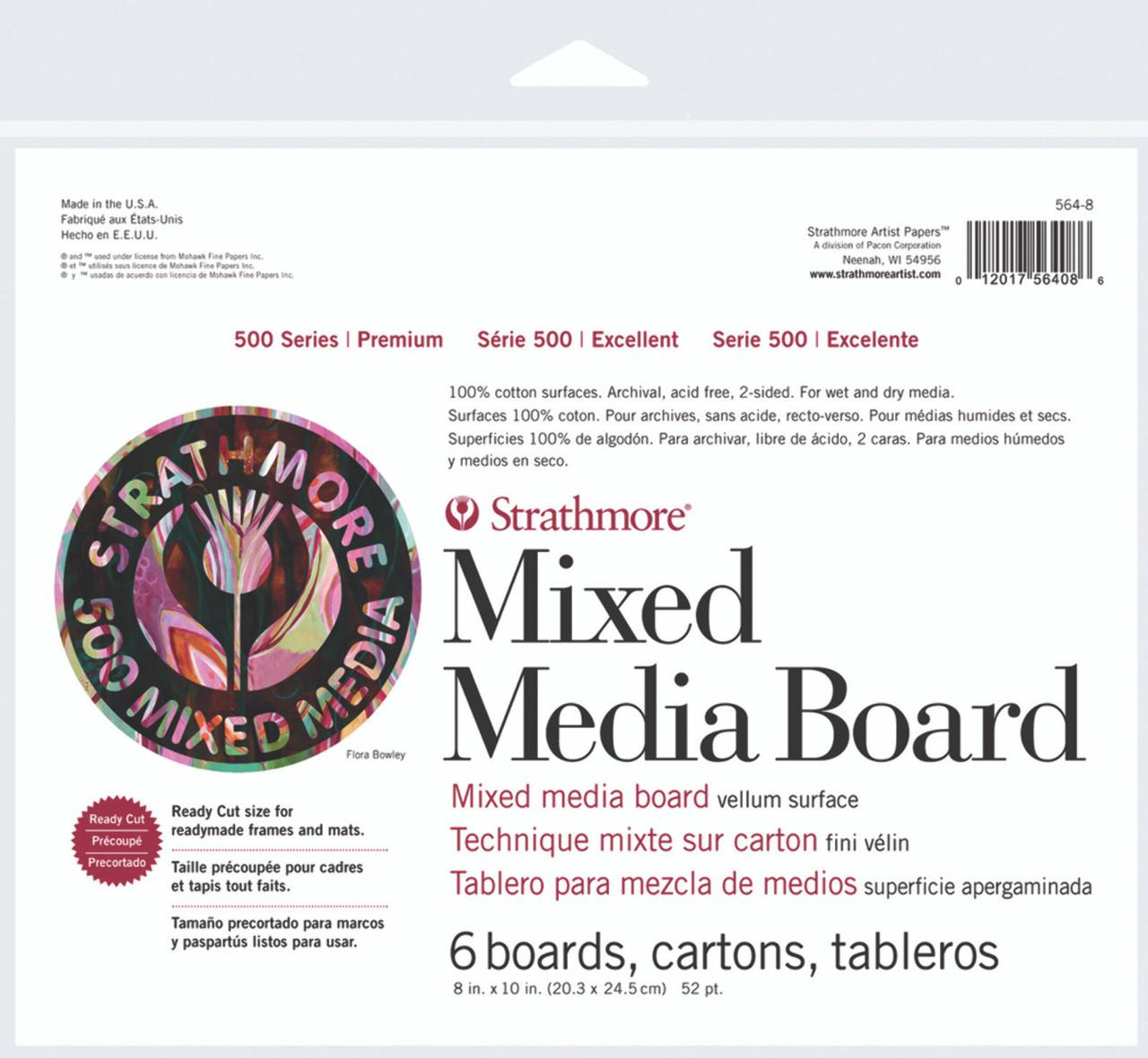 Mixed Media Board Series 500 8 x 10